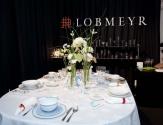 Lobmeyr zeigte den schönsten Hochzeitstisch.