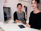 Gabriela Koch und Gerlinde Gorla von Citronenrot.